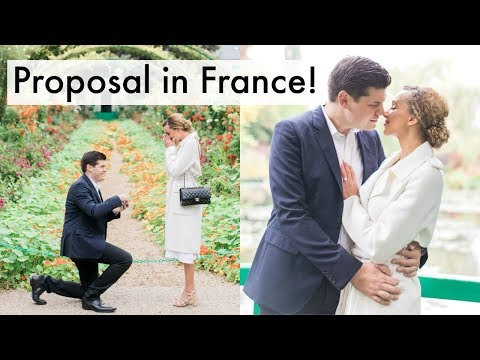 THE MOST PERFECT PROPOSAL EVER! In France! 2017
