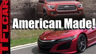 Top 10 Foreign Cars Made in the America: Most Surprising Foreign Cars MADE  in the USA