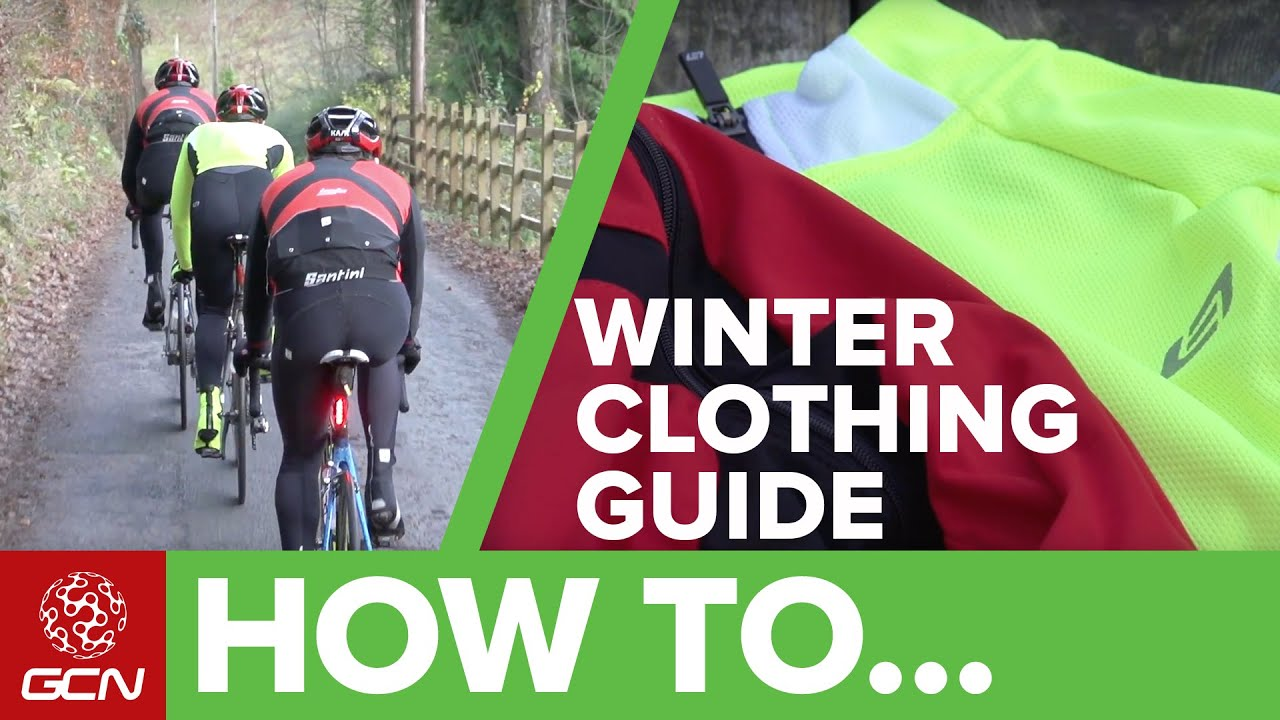 Winter Cycling Clothing Pro Tips - Cold Weather Clothing Guide - YouTube c41f446d8