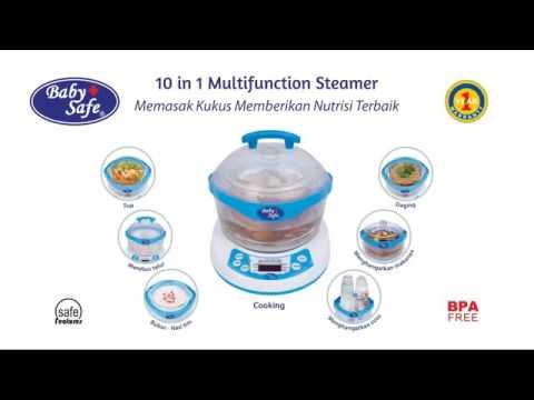 Cara Menggunakan Baby Safe 10 In 1 Multifunction Steamer