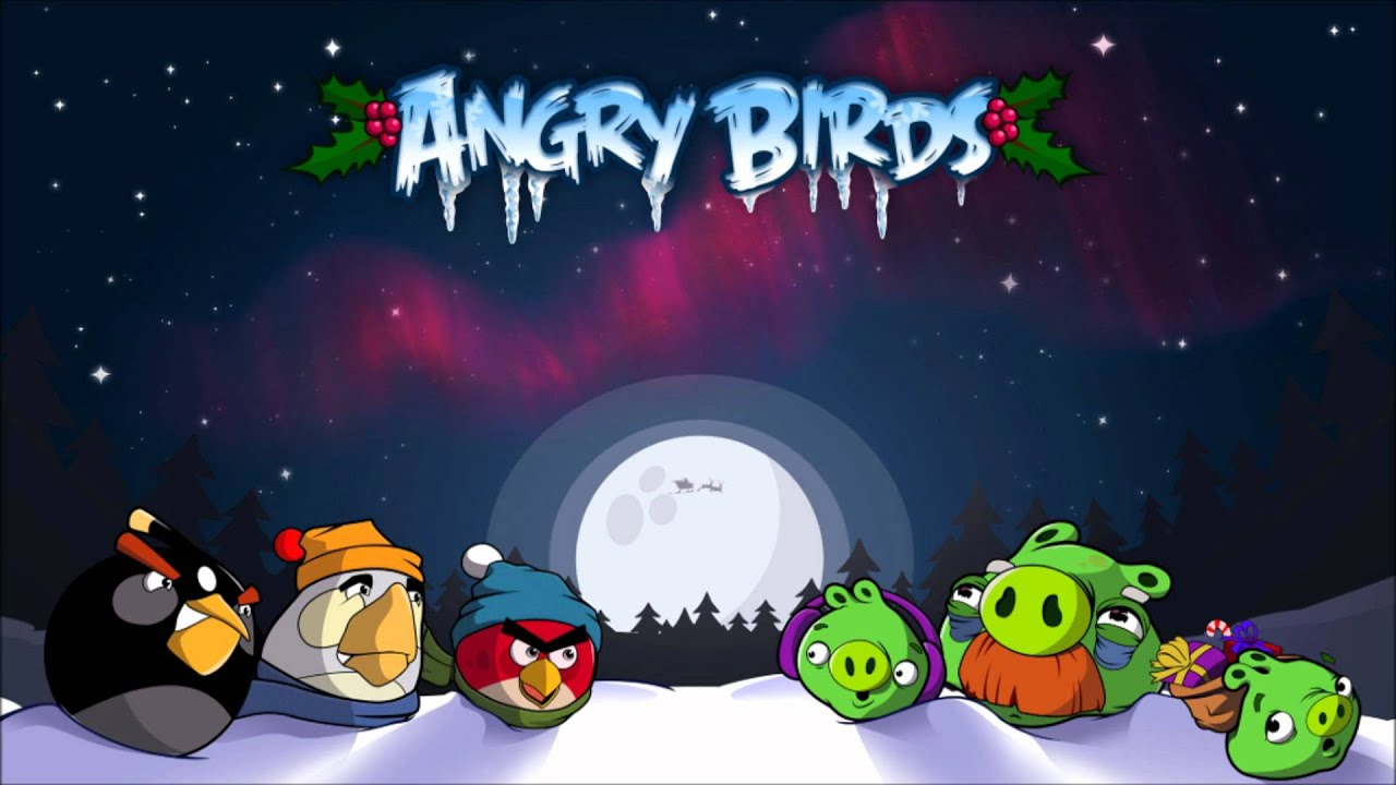angry birds seasons christmas theme song hd - Christmas Angry Birds