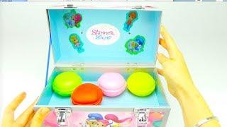 Шиммер и Шайн сюрпризы и игрушки для детей