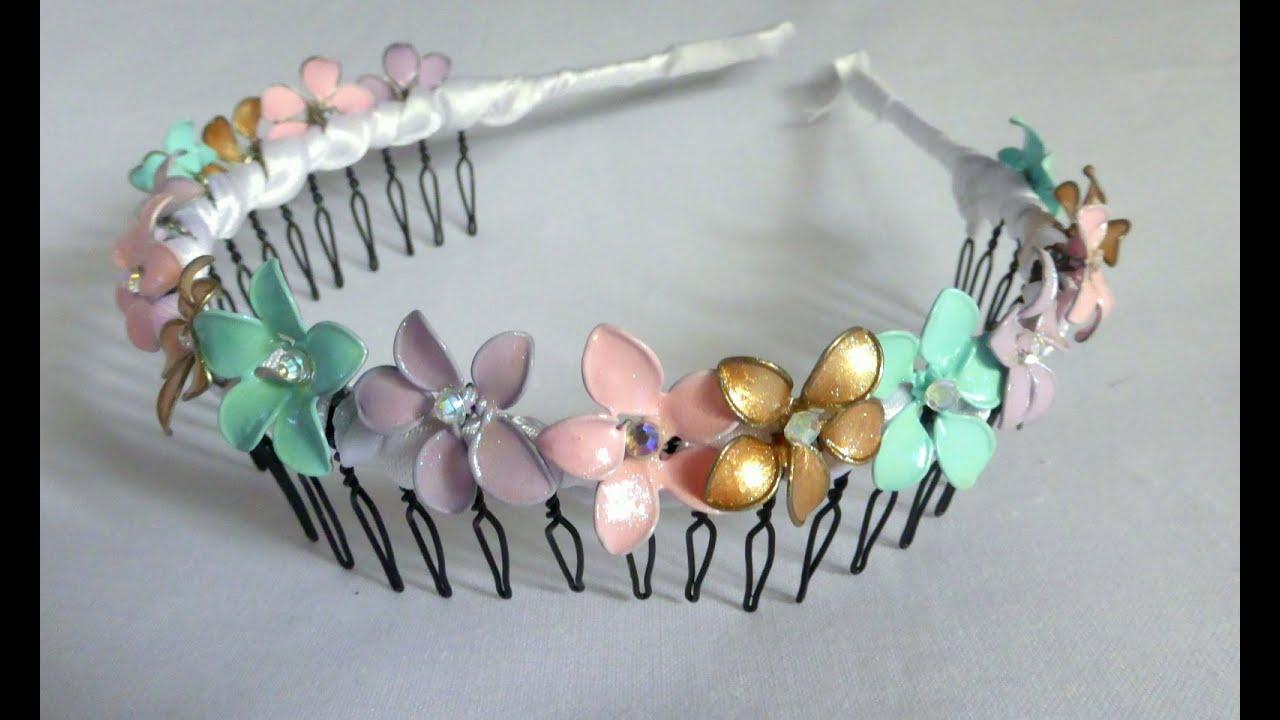 Flower Wire Headband Diy Wire Center