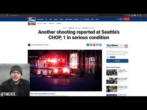 ANOTHER Shooting Last Night In Seattle's CHAZ, Man Detained For Being White As CHAZ Segregates Races