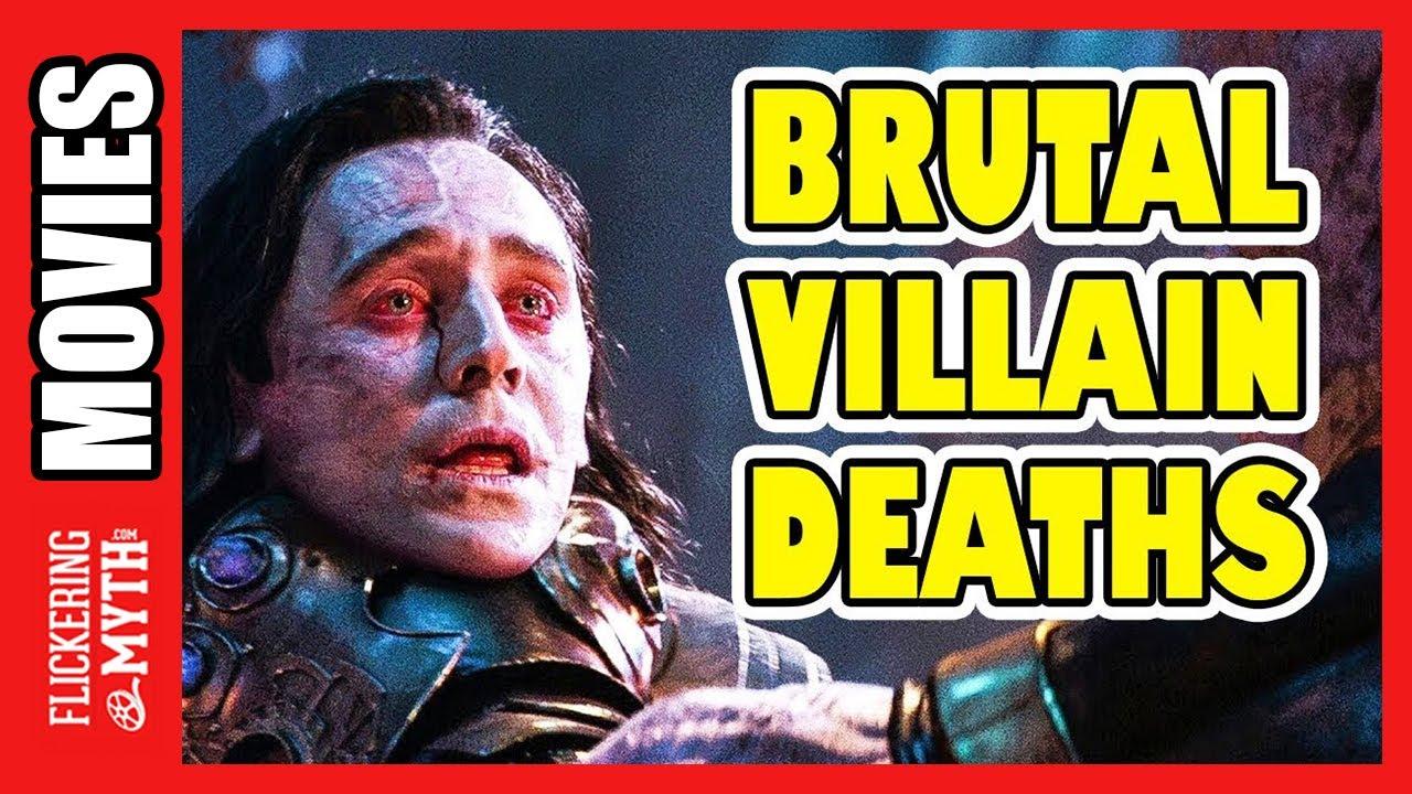 Brutal Villain Deaths in Comic Book Movies