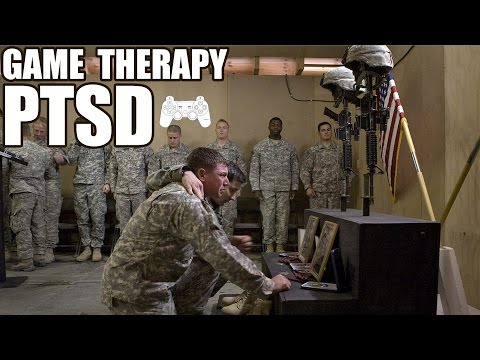 Treating PTSD with Video Games - Soldier Uses Video Games to Cope with the Horrors of War