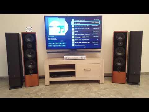 Canton Ergo 90 DC sound test  2