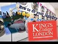 How to do your laundry (King's College London residents)