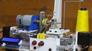DIY Arduino based Bobbin Winding Machine