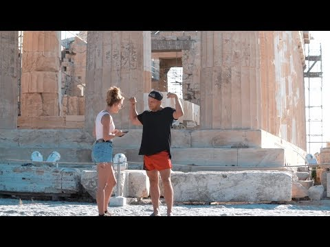 I PICKED UP A GIRL IN GREECE!