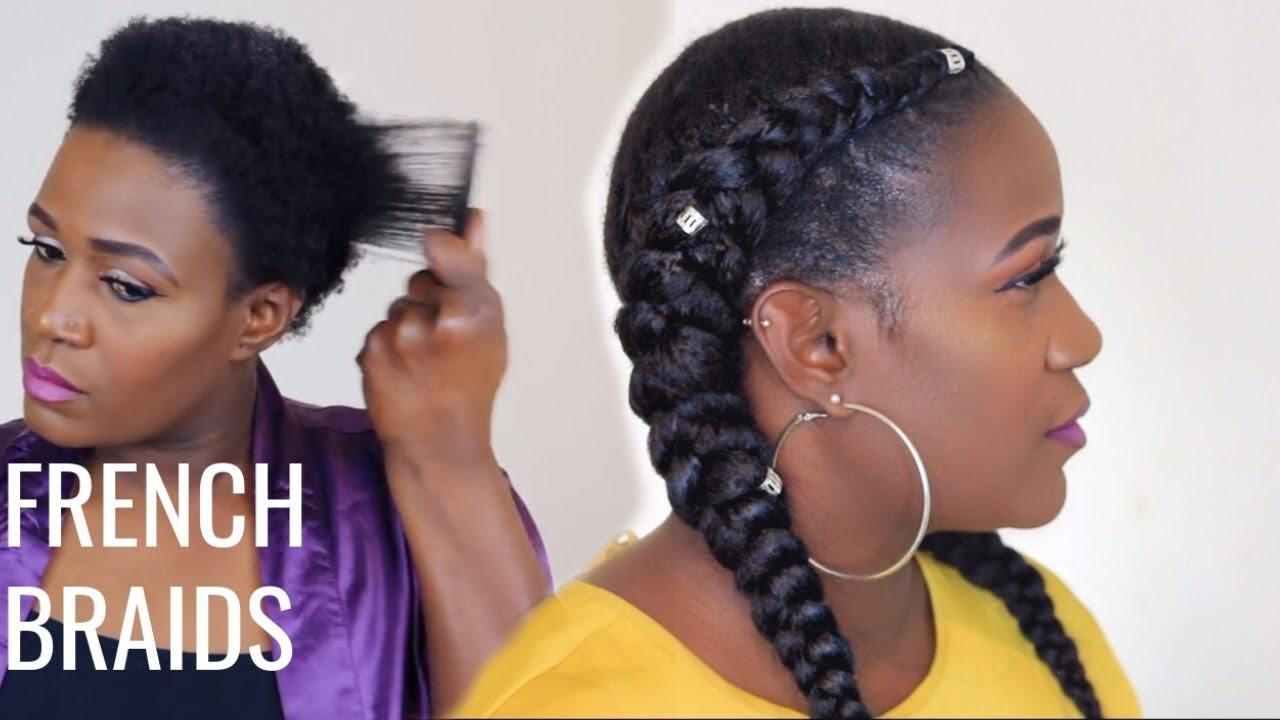Two Big Braid Hairstyles Jamaican Hairstyles Blog