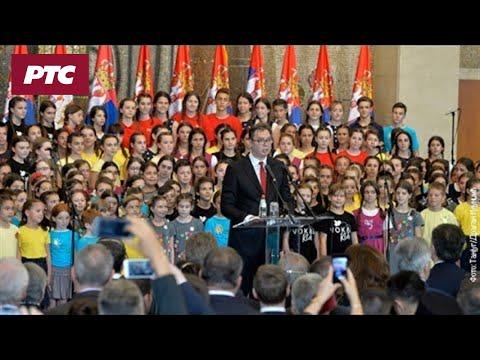 Govor predsednika Aleksandra Vučića u Palati Srbija