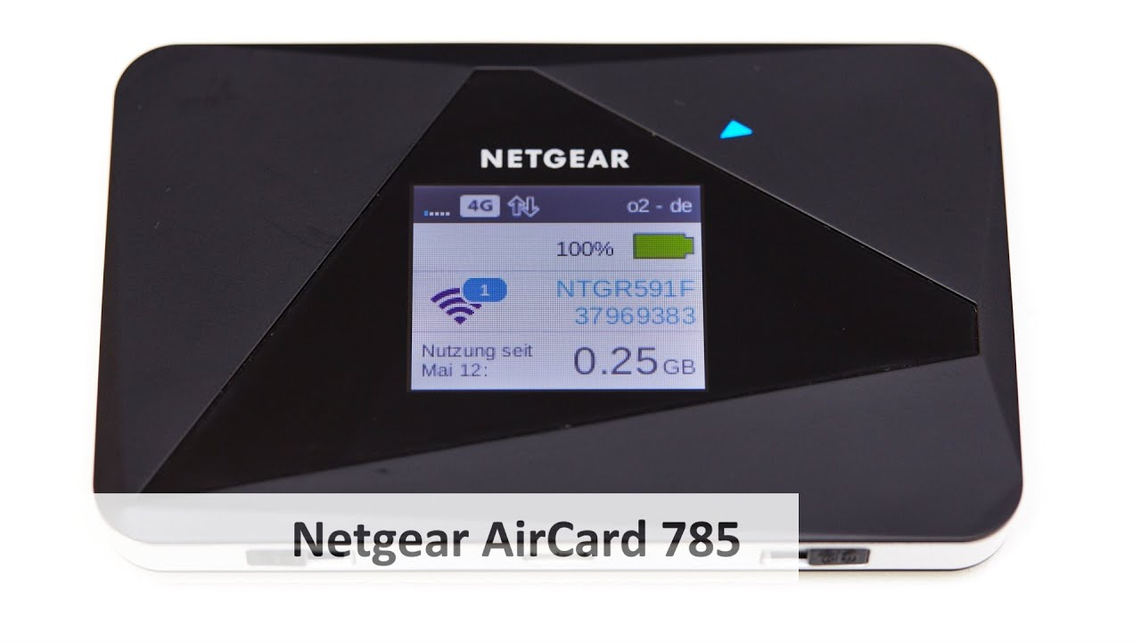netgear aircard 785 mobiler lte hotspot im test deutsch. Black Bedroom Furniture Sets. Home Design Ideas