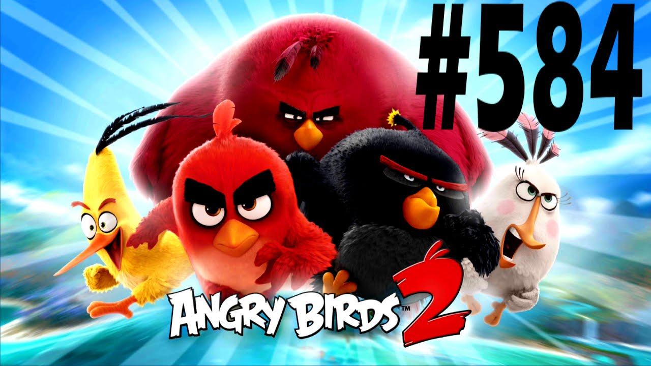 Angry birds 2 cobalt plateaus the hamalayas level 584 - Angry birds trio ...