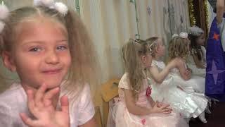 Большой Новогодний праздник в детском саду. город Балашиха, Московская область,  фильм
