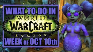 THE GREAT GNOMEREGAN RUN | What's New in WoW: Week of October 10th, 2017