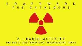 Kraftwerk - The Catalogue 2 - Akasaka Blitz, Tokyo, 2013-05-09 クラ...