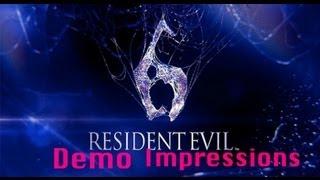 Resident Evil 6 Demo Impressions (Leon & Helena)