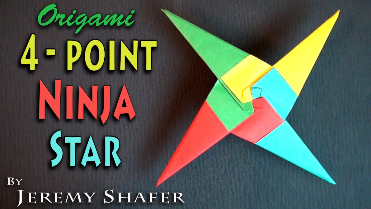 origami 90 pointed ninja star