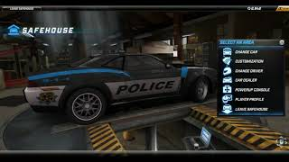 NFS World  Police Cars 4 of 9   Generic Heat 3 Cop Car old