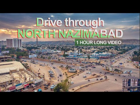 LONG DRIVE THROUGH NORTH NAZIMABAD - KARACHI (1 hour)