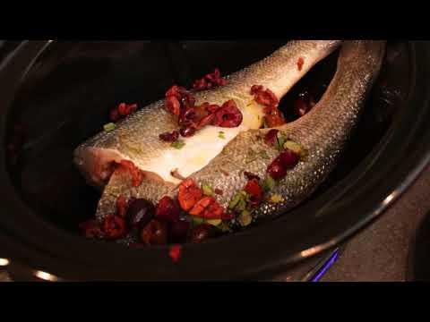 The Healing Slow Cooker - Branzino Slow Cooker Recipe With Goji Salad