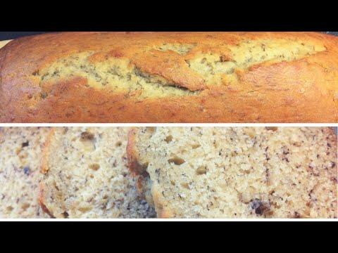 Moist Banana Bread with DIY Buttermilk