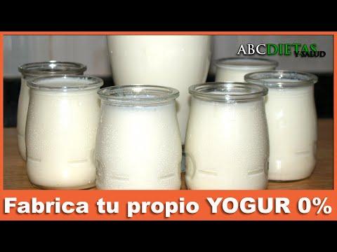 Fabrica tu propio yogur 0 % -Receta dieta Dukan Fase Ataque
