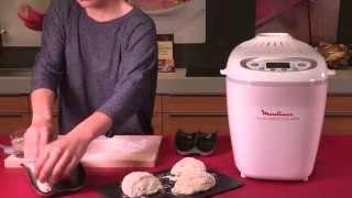 Faites vos pains, baguettes, brioches, avec les sachets de préparation Moulinex !