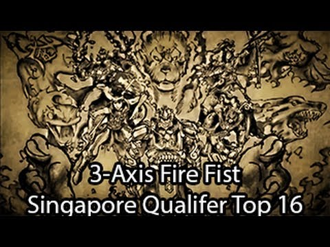 3-Axis Fire Fist - Singapore Asian Qualifer Top 16 - Yugioh Deck Profile March 2013