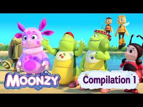 MOONZY (Luntik) - Moonzy  Compilation 2015 (Five Full episodes) [HD]