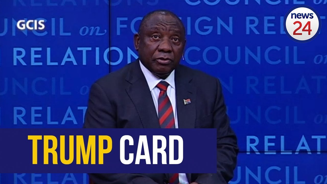 WATCH: Trump was 'ill-informed' on land expropriation - Ramaphosa in US