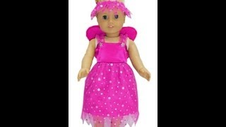American Girl Doll Clothes Patterns Fairy Costume