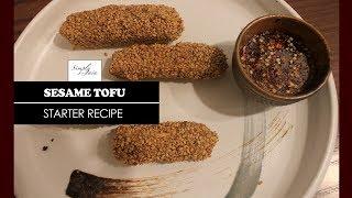 Sesame Tofu | How To Make Tofu | Starter | Simply Jain