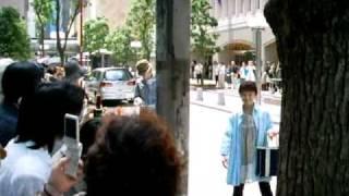 2008年7月24日 花組 東京寶塚大劇場 真飛聖入待.