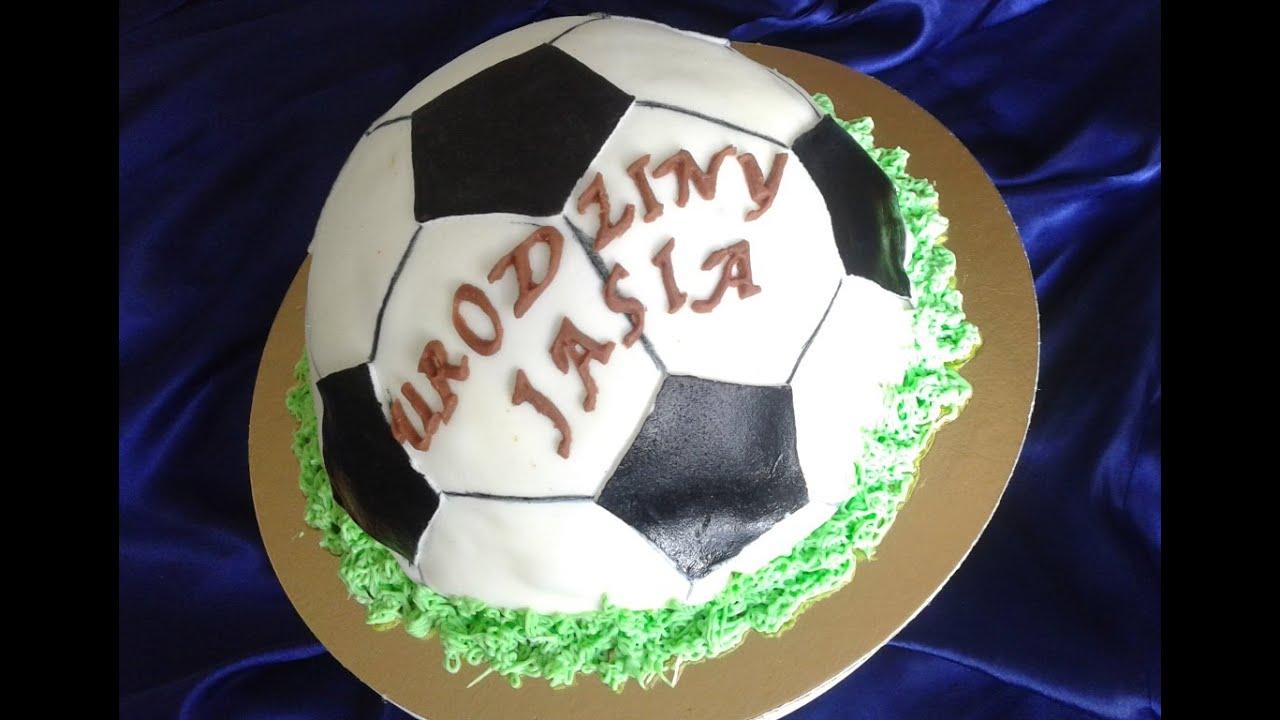 how to make a football cake video