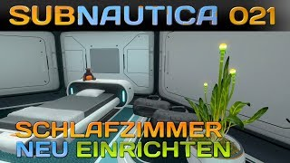 SUBNAUTICA [021] [Unser neues Schlafzimmer] Let's Play Gameplay Deutsch German thumbnail