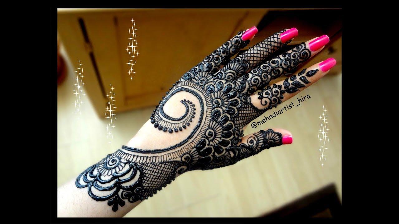 Diwali Henna Designs: Diwali Special Beautiful Stylish Arabic/gulf Bridal Heavy
