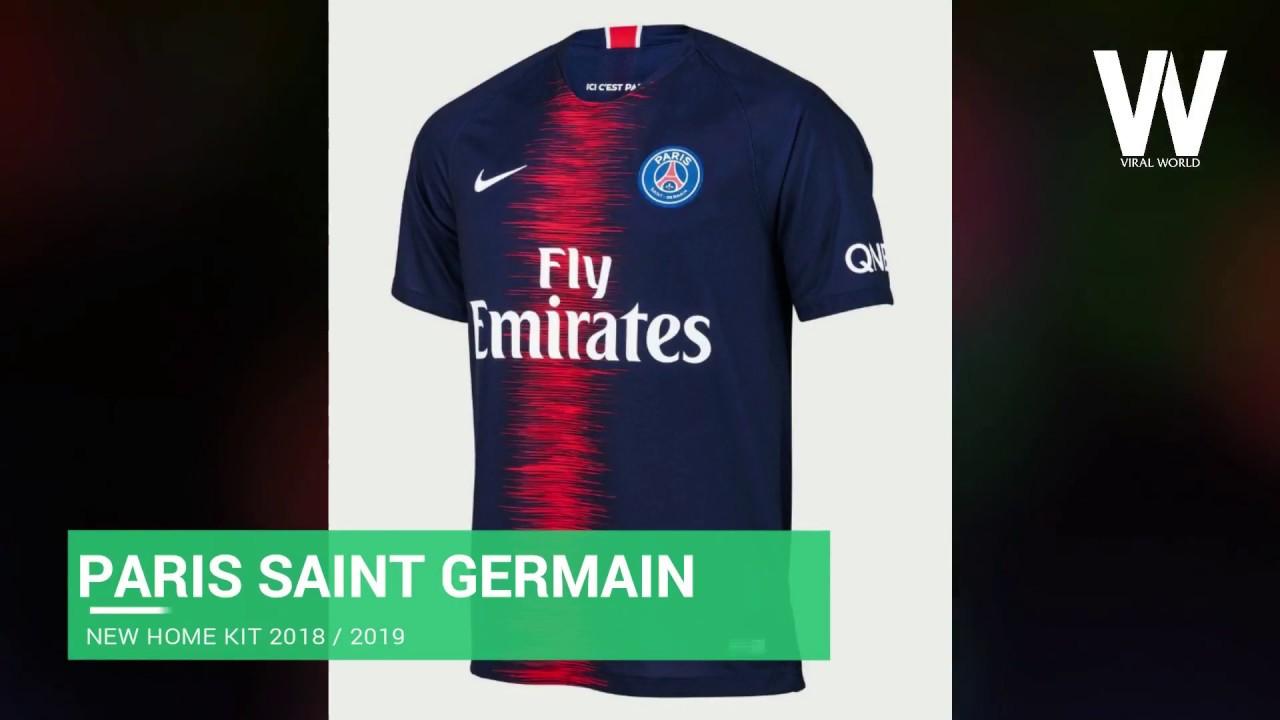 new concept 3c548 3de1c New Nike PSG Home Jersey Season 2018 - 2019