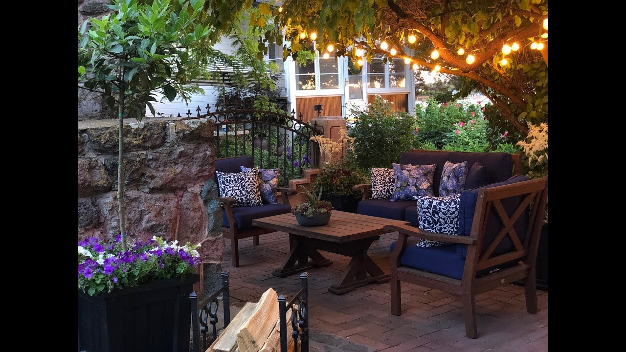 How To Create A Beautiful Outdoor Patio Area Garden Answer