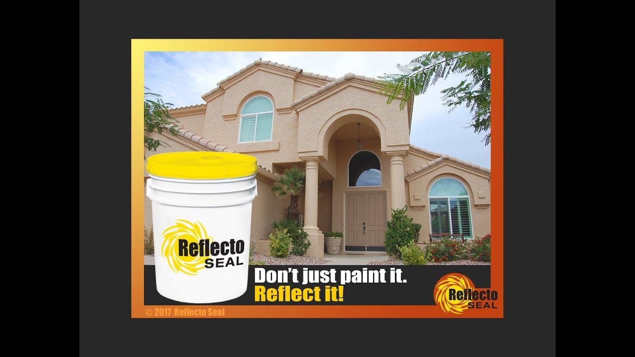 reflecto seal - heat-reflective paint - international - youtube