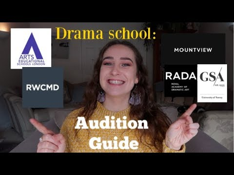 TOP Audition Guide for Drama School Hopefuls!