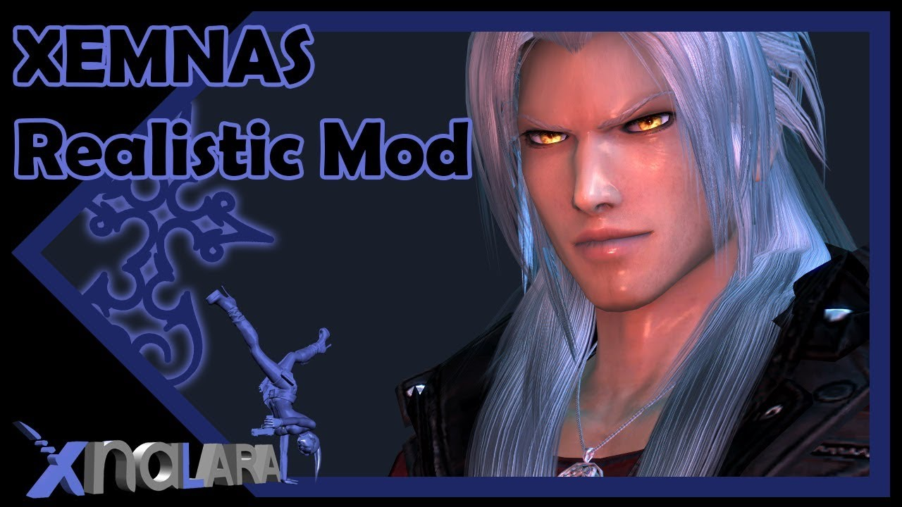 Xemnas Realistic Model || MeshMod || XnaLara XPS || Kingdom Hearts 3D Art