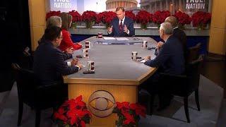 CBS News Washington Correspondents reflect on Trump's first year