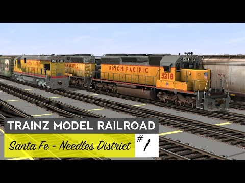 Trainz Model Railroad #1 – Needles District