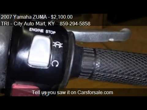 2007 yamaha zuma moped for sale in lexington ky 40505 at for Yamaha lexington ky