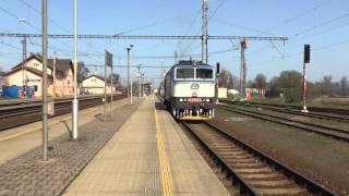 749.107-9 a 754.079-2 DKV Olomouc | napěťová výluka stanice Mohelnice