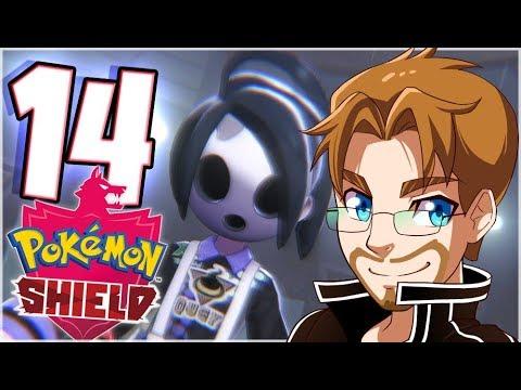 Pokemon Shield Walkthrough Part 14 Allister Stow-On-Side Gym (Nintendo Switch) thumbnail