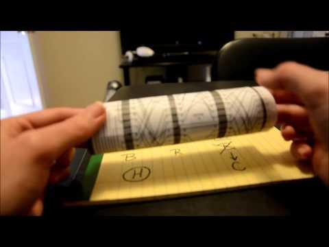 The Paper Enigma Machine