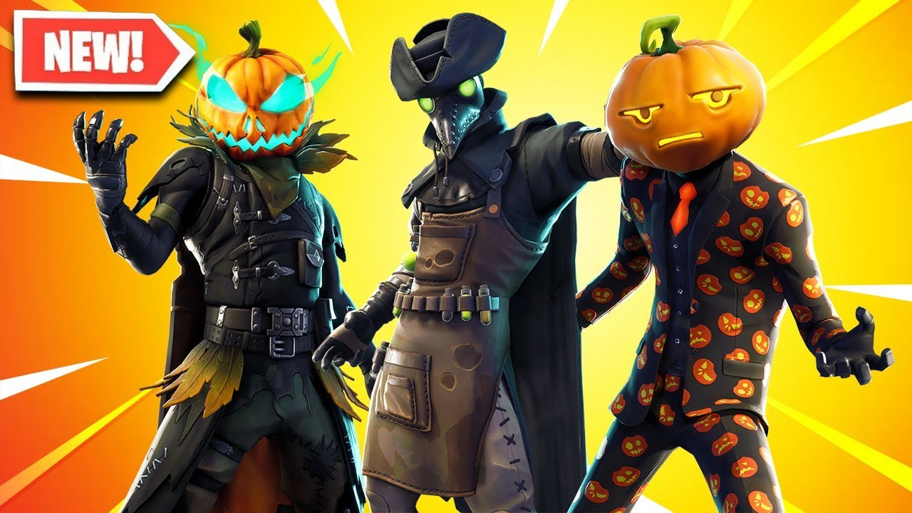 New HALLOWEEN Skins Coming to Fortnite.. - YouTube